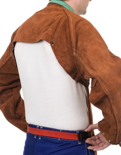 Bolero de sudură din şpalt de vită Lava Brown™ 1