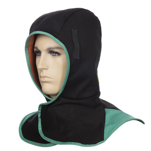 Glugă ignifugă neagră pentru vreme rece cu căptușeală COMFOflex® [0]