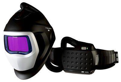 Masca de sudura 3M™ Speedglas™ 9100 Air si sistem de presiune pozitiva 3M™ Adflo™ 0