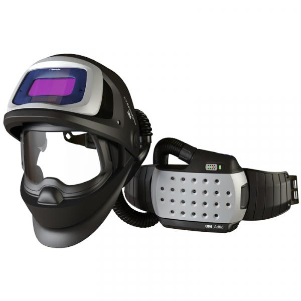 Masca de sudura 3M™ Speedglas™ 9100 FX Air si sistem de presiune pozitiva 3M™Adflo™ 0