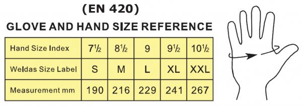 10-1050-SOFTouch™ mănuşă pentru toate aplicaţiile de sudură 3