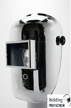 Masca de sudura pentru cap din fibra sticla acoperita cu un strat de aluminiu 0