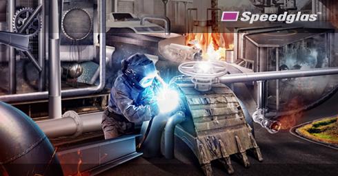 Masca de sudura 3M™ Speedglas™ 9100 FX Air si sistem de presiune pozitiva 3M™Adflo™ 4