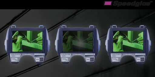 Masca de sudura 3M™ Speedglas™ 9100 Air si sistem de presiune pozitiva 3M™ Adflo™ 4