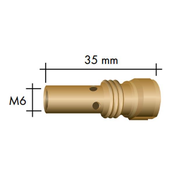 Portduza curent M6 ABIMIG GRIP 155 [1]