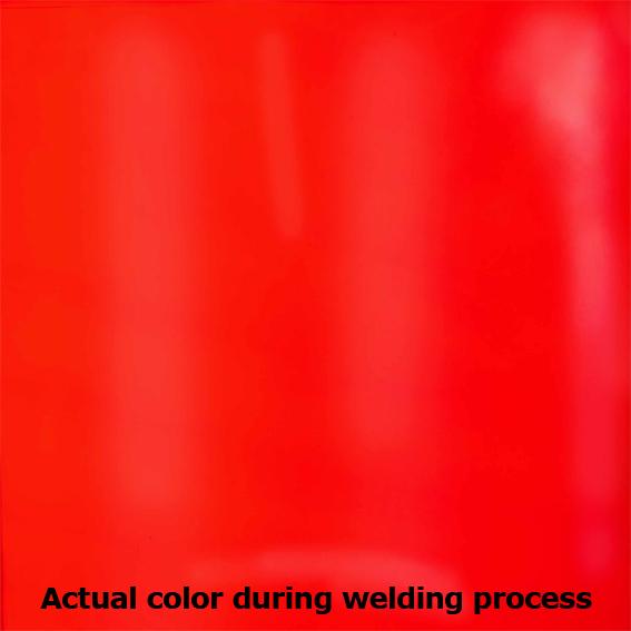 Ecran de sudură portocaliu/roşu [3]
