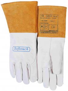 10-1009-SOFTouch™ mănuşă de sudură din piele box uşoara de capră1