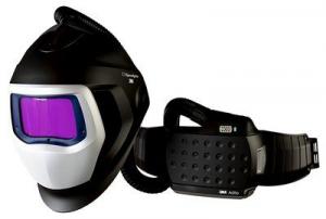 Masca de sudura 3M™ Speedglas™ 9100 Air si sistem de presiune pozitiva 3M™ Adflo™0