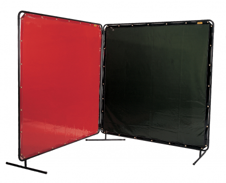 Ecran de sudură portocaliu/roşu [2]