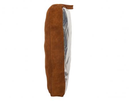 Lava Brown™ pernă de sudură; şpalt maro de vită pe o parte iar pe cealaltă parte PFR Rayon [3]