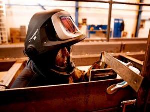 Masca de sudura 3M™ Speedglas™ 9100 FX Air si sistem de presiune pozitiva 3M™Adflo™3