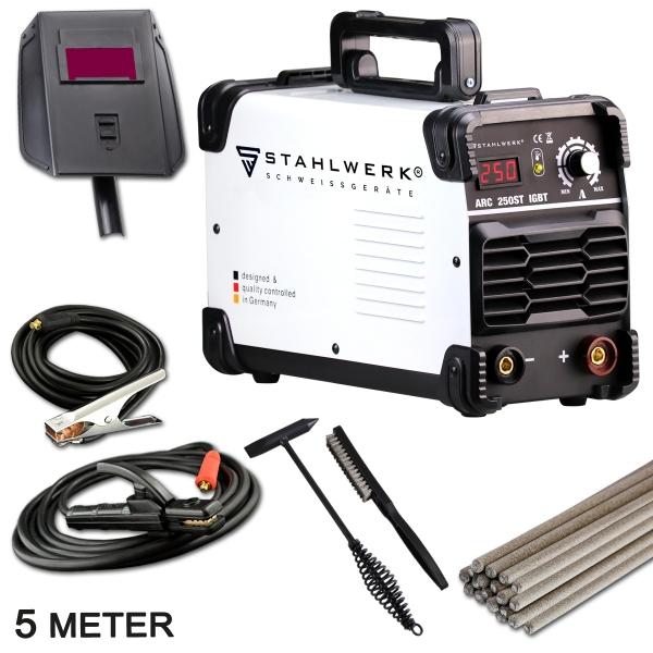 ARC 250 ST IGBT professzionális Stahlwerk hegesztő inverter [0]