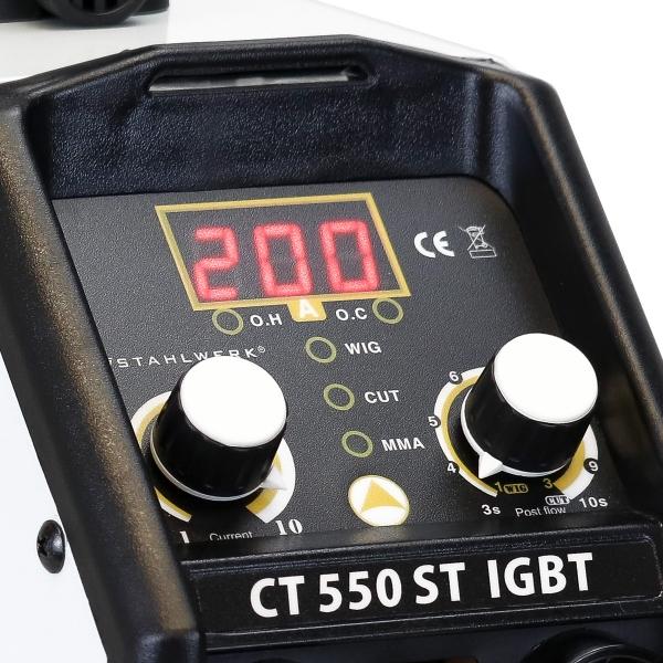 CT 550 ST IGBT - DC Stahlwerk hegesztő inverter 3