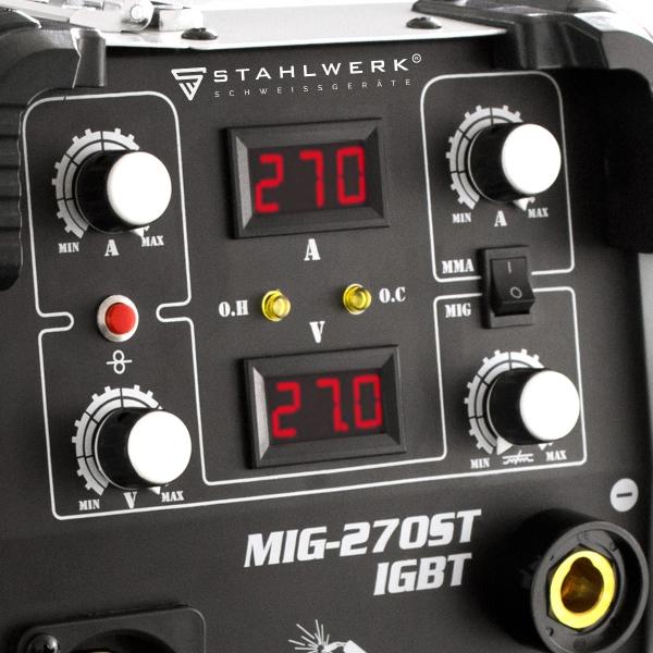 MIG 270 ST professzionális hegesztő inverter 4