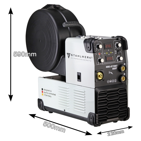 MIG 270 ST professzionális hegesztő inverter 1