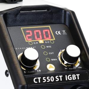CT 550 ST IGBT - DC multifunkciós Stahlwerk hegesztő inverter3