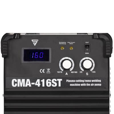 Multifunkciónális MMA/Plazma (kompresszoros) hegesztő inverter CMA-416 ST1