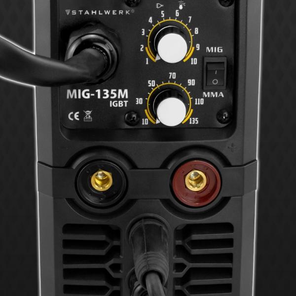 Aparat de sudura multifunctional MIG/MAG/MMA Stahlwerk MIG 135 M 4