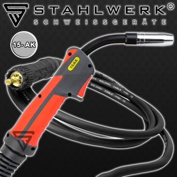 Aparat sudura profesional pentru sudura MIG/MMA 175 Stahlwerk complet 5