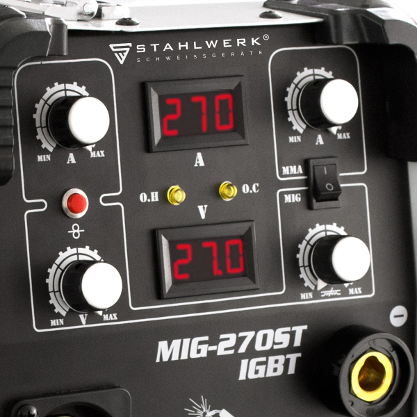 Aparat de sudura profesional MIG/MMA 270 ST Stahlwerk 5