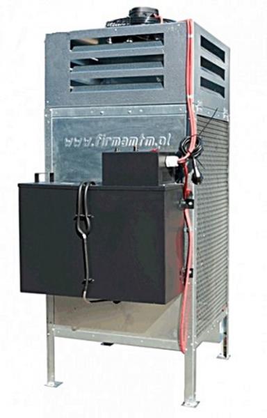 Incalzitor, soba cu ulei ars MTM 8-30 cu recuperator de caldura 2