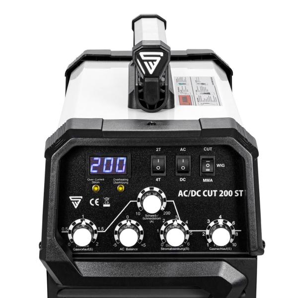 Aparat de sudura aluminiu AC/DC-WIG-MMA si Plasma 200 ST Stahlwerk 1