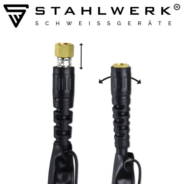 Aparat de sudura aluminiu AC/DC-WIG-MMA si Plasma 200 ST Stahlwerk 7