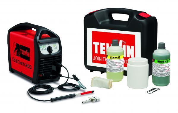 CLEANTECH 200 - Aparat pentru curatarea sudurii inoxului TELWIN 0