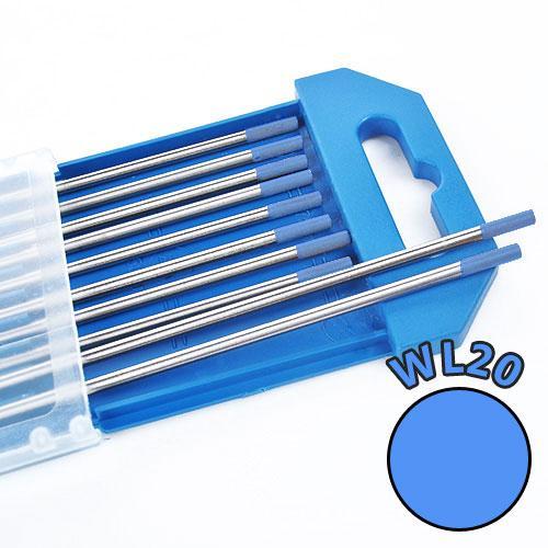 Electrozi wolfram WL20 (albastru) d=2.4 mm [0]