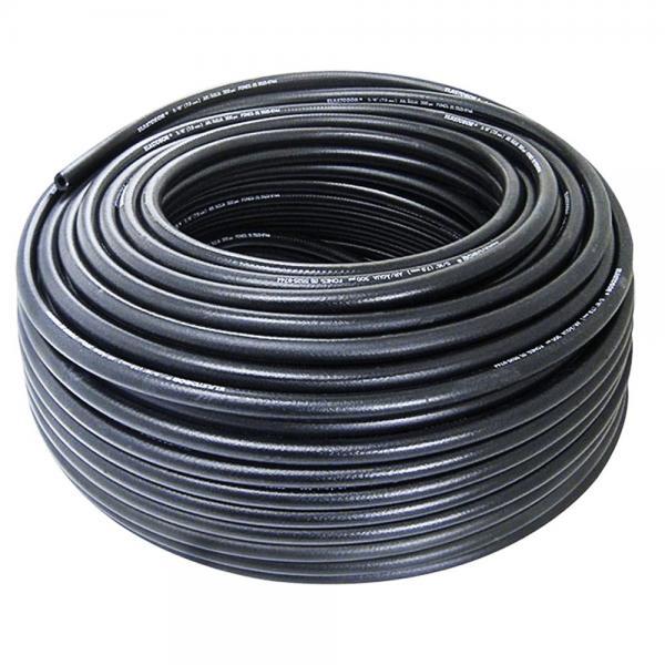 Furtun gaz PVC 5x1.5 mm negru [0]
