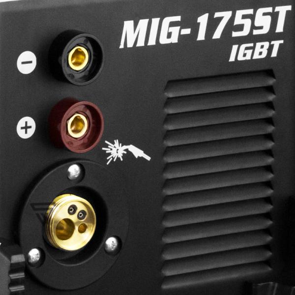 Aparat sudura profesional pentru sudura MIG/MMA 175 Stahlwerk complet 3