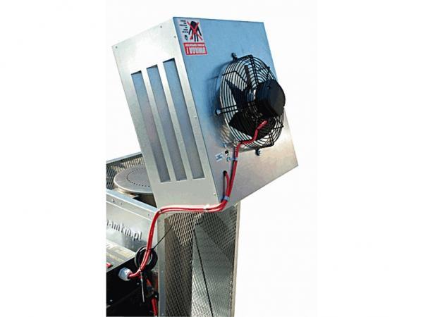 Incalzitor, soba cu ulei ars MTM 8-30 cu recuperator de caldura 3