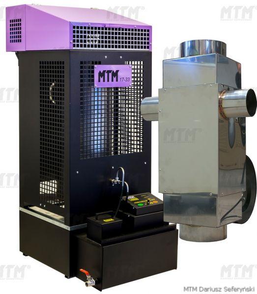 Incalzitor soba cu ulei ars MTM 17-33 cu recuperator de caldura 0