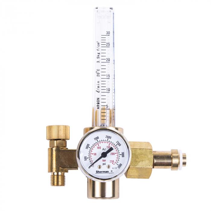 Reductor Presiune Argon/CO2 KW-AR 35 - 25 L/Min cu rotametru 0