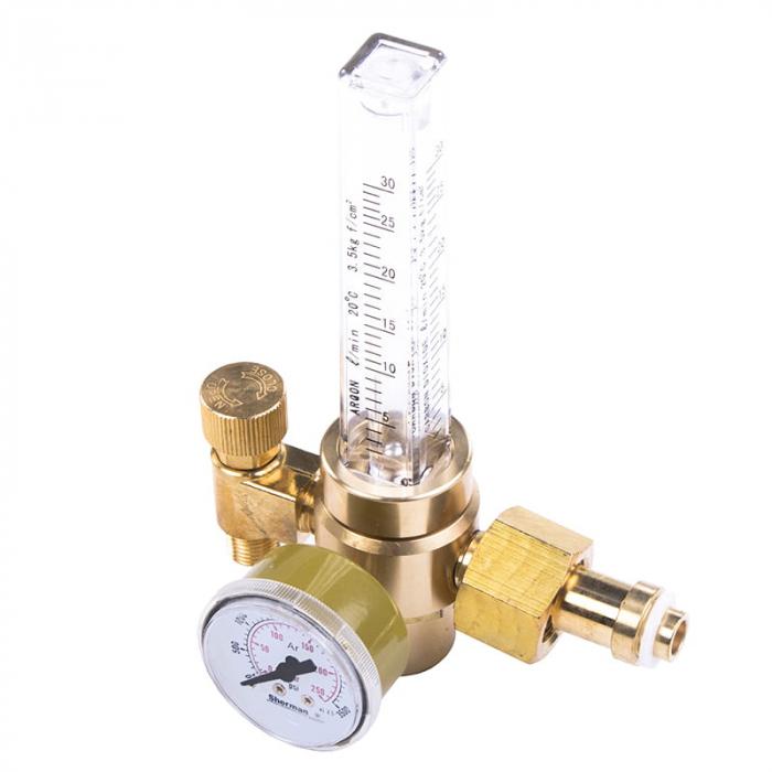 Reductor Presiune Argon/CO2 KW-AR 35 - 25 L/Min cu rotametru 1