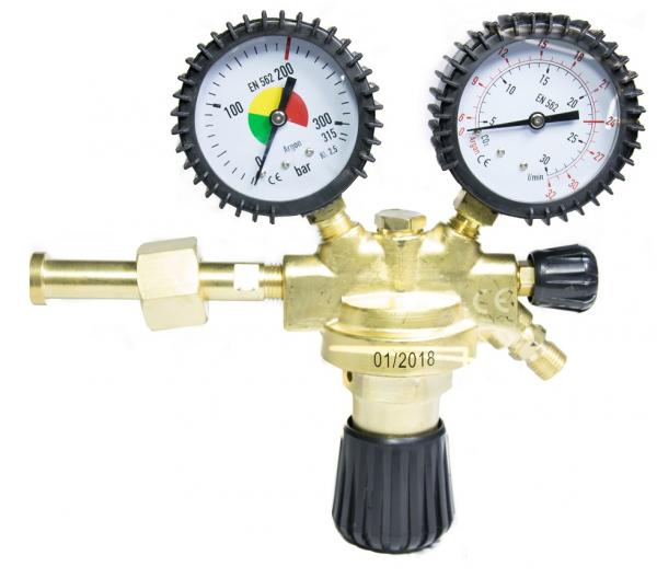 Regulator de presiune AR/CO2/Corgon Stahlwerk 2
