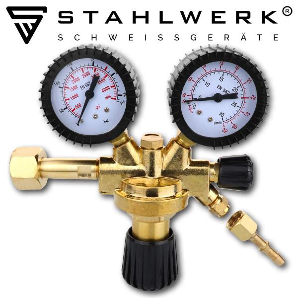 Regulator de presiune AR/CO2/Corgon Stahlwerk 1