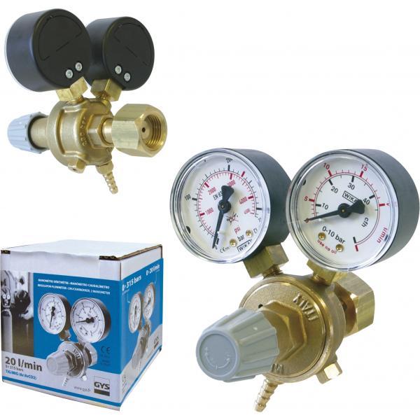 Regulator de presiune mini pentru Ar/Co2/Corgon Stahlwerk 0