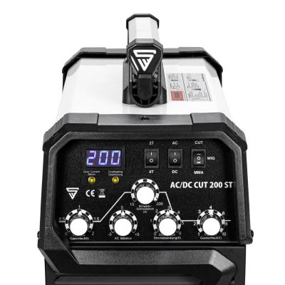 Aparat de sudura aluminiu AC/DC-WIG-MMA si Plasma 200 ST Stahlwerk1