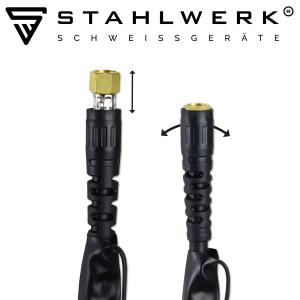 Aparat de sudura aluminiu AC/DC-WIG-MMA si Plasma 200 ST Stahlwerk7
