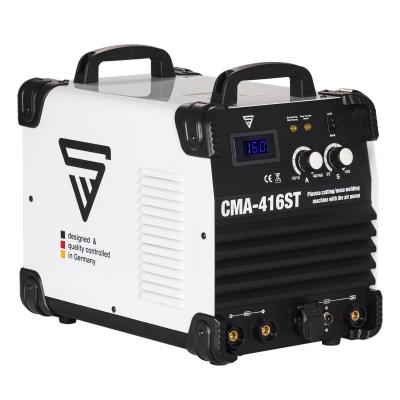Aparat de sudura MMA si plasma cu compresor incorporat CMA 416 ST0