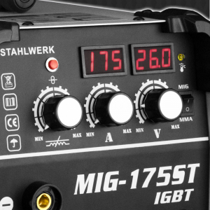 Aparat sudura profesional pentru sudura MIG/MMA 175 Stahlwerk complet4