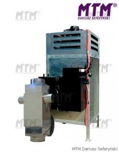 Incalzitor, soba cu ulei ars MTM 8-30 cu recuperator de caldura0