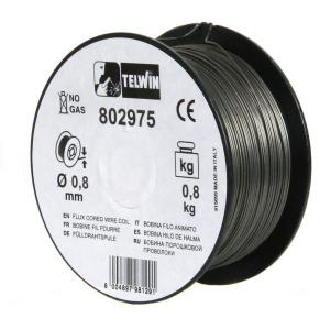 Sarma sudura cu flux Telwin 0.8 mm rola 0.8 kg - pentru sudura fara gaz