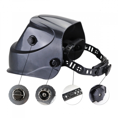 Masca de sudura cu cristale lichide ST-450RC Stahlwerk DIN9-132