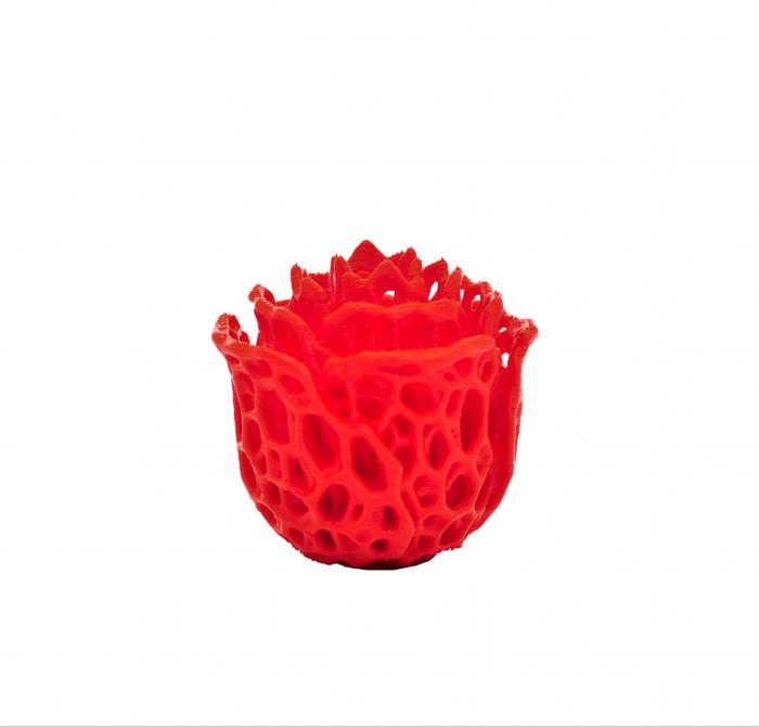 3D Voronoi Rose [2]