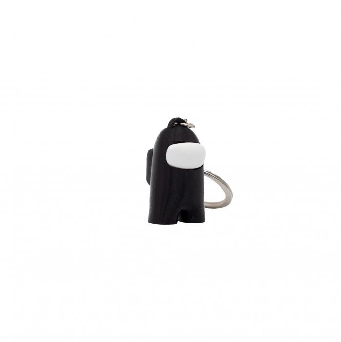 Among Us Keychain | 3D printed - negru [0]