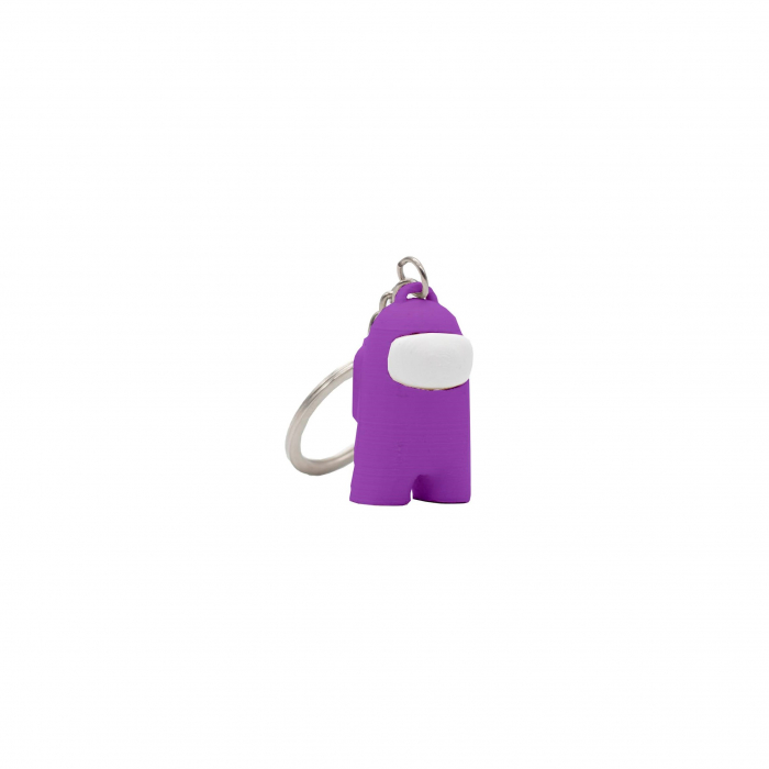Among Us Keychain | 3D printed - violet [0]