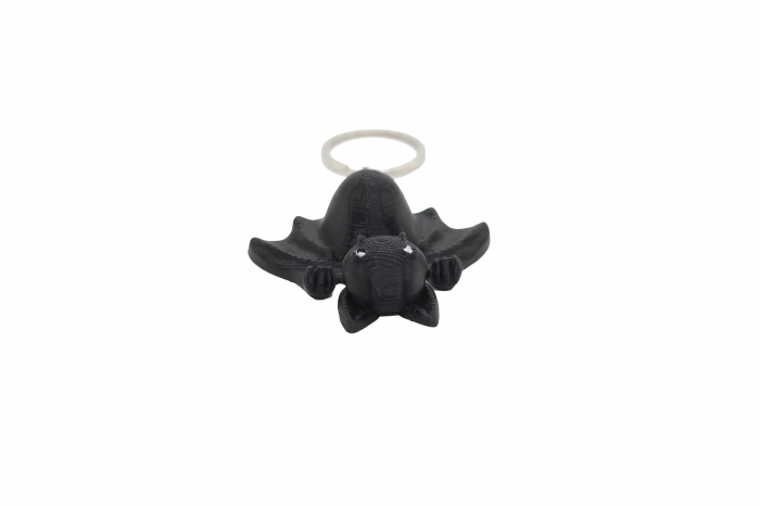 Bat keychain & phone stand - Negru [1]
