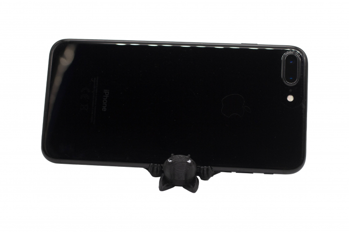 Bat keychain & phone stand - Negru [2]
